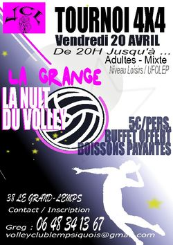 Tournoi Volley Ball
