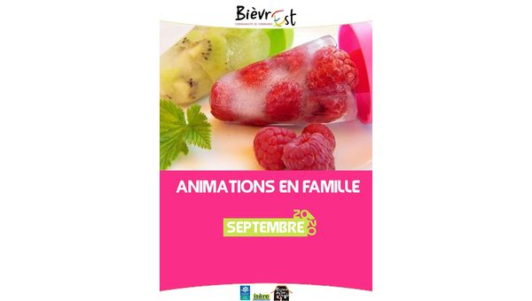 Animations famille - 16/06/2020