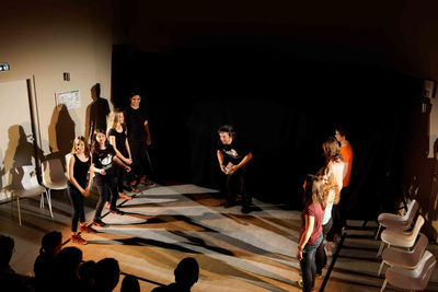 Sites > Centres socioculturels > stage d'impro 2015